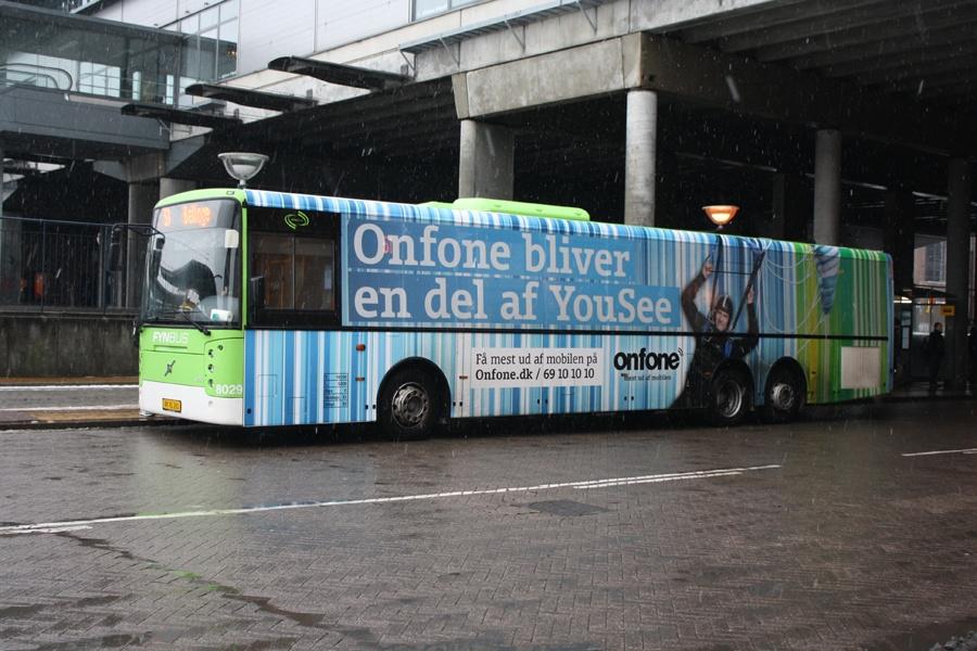 Tide Bus 8029/XK91201 i Odense den 27. januar 2013