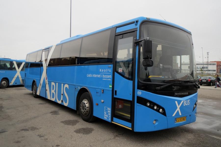 Keolis 242/CG93887 i Aalborg den 12. november 2014