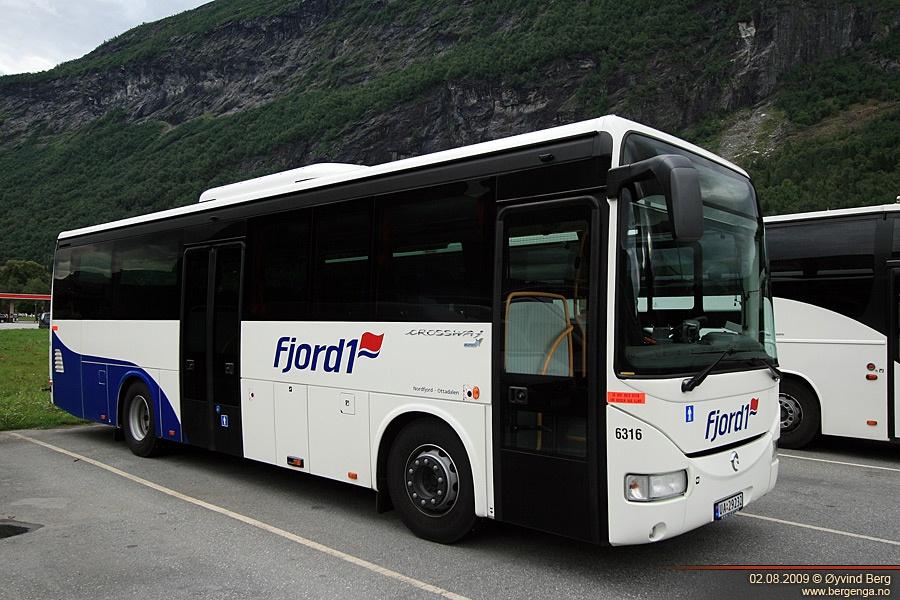 Fjord 1 6316/UA29232 i Stryn i Norge den 2. august 2009