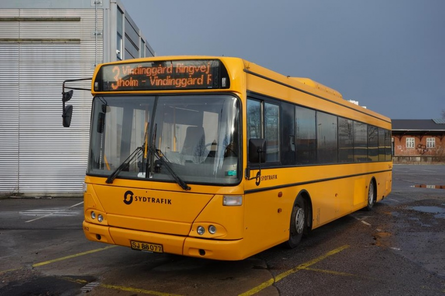 Bent Thykjær 662/SJ88077 i garagen i Vejle den 14. januar 2015