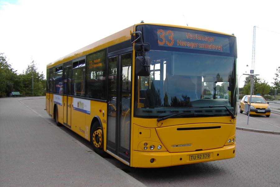 Connex 6366/TU92379 på Nøragersmindevej på Vestamager den 10. september 2005