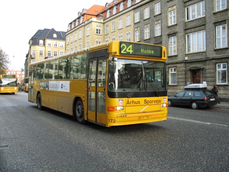 Århus Sporveje 372/RD91791 på Park Allé i Århus den 21. november 2005