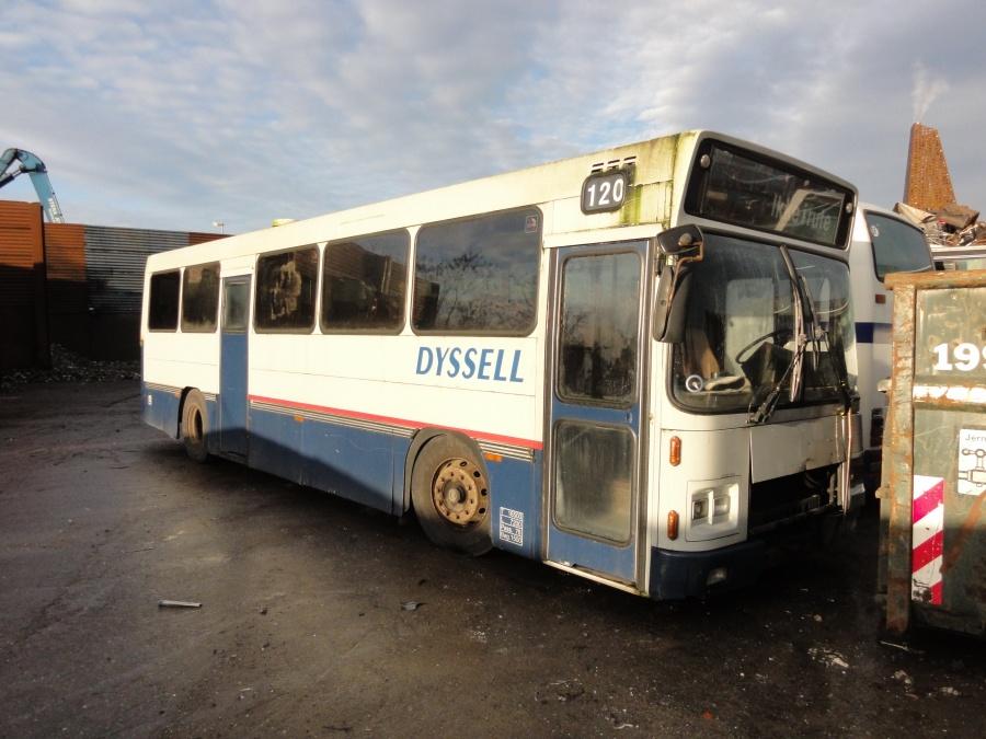 Dyssells Busser 120 hos Stena Jern og Metal i Roskilde den 5. januar 2015