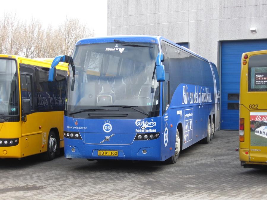 Bergholdt UB91162 ved Bus Center Vest i Kolding den 13. marts 2010