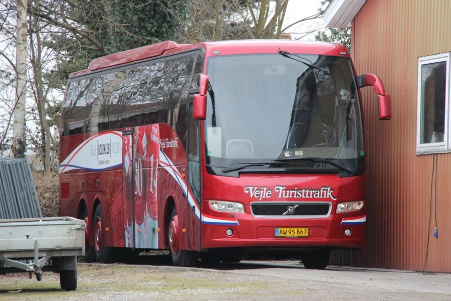 Vejle Turisttrafik 45/AW95867 i Vejle den 2. marts 2013