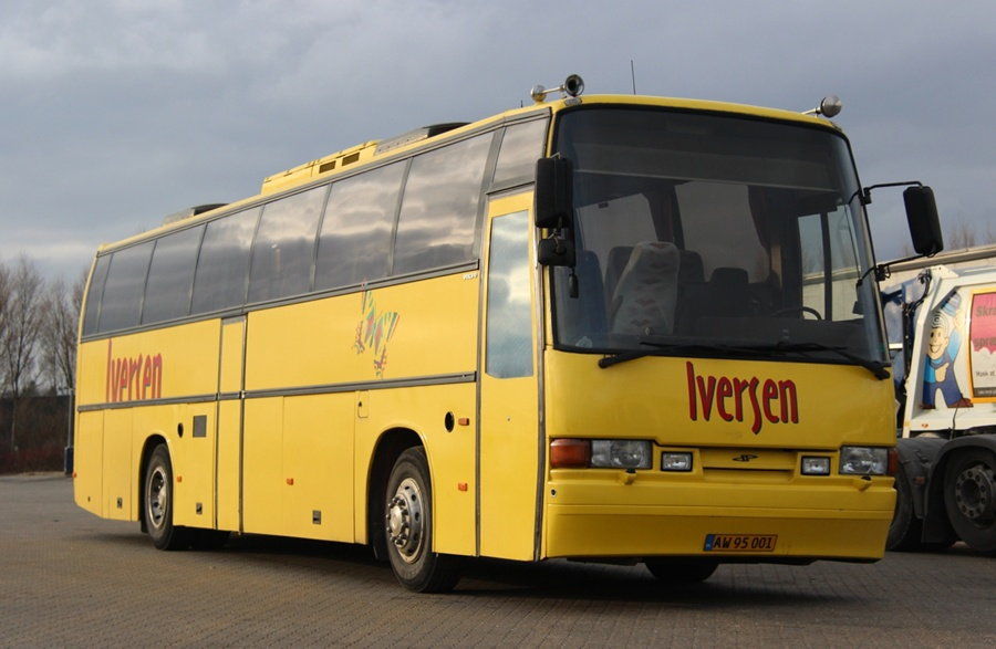 Iversen Busser AW95001 ved Bus Center Vest i Kolding den 22. februar 2013