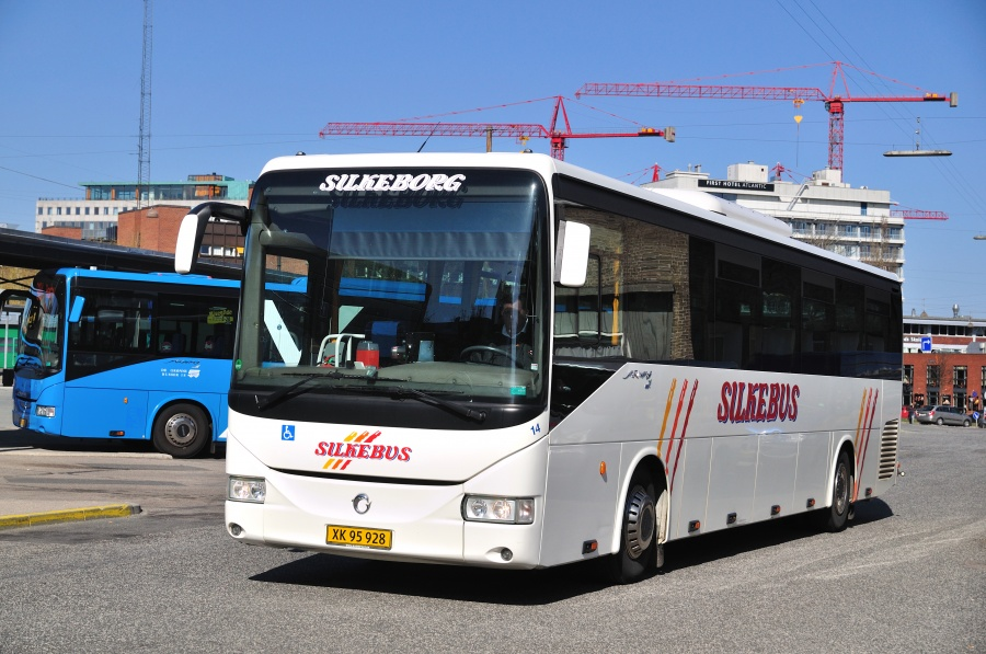 Silkebus 14/XK95928 på Århus rtb. den 1. maj 2013