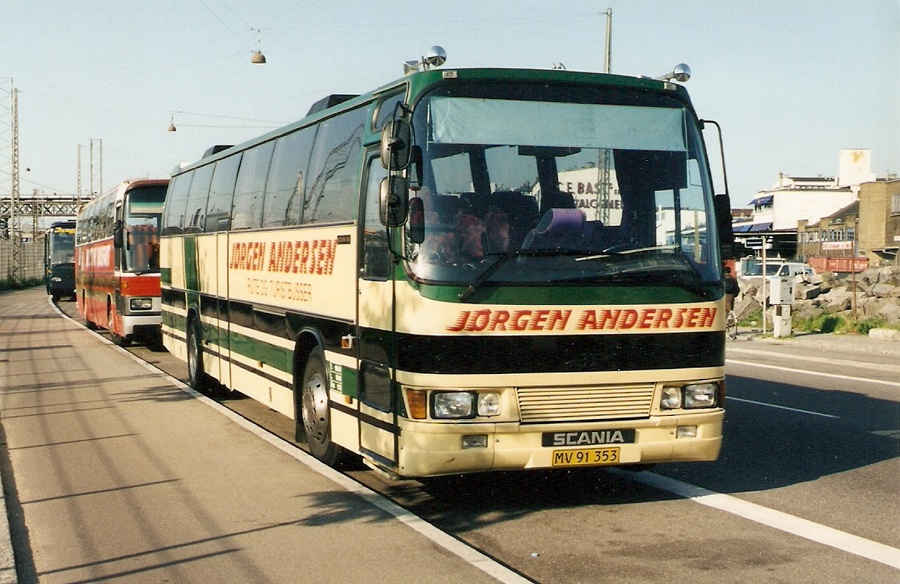 Jørgen Andersen MV91353 på Ingerslevsgade i København