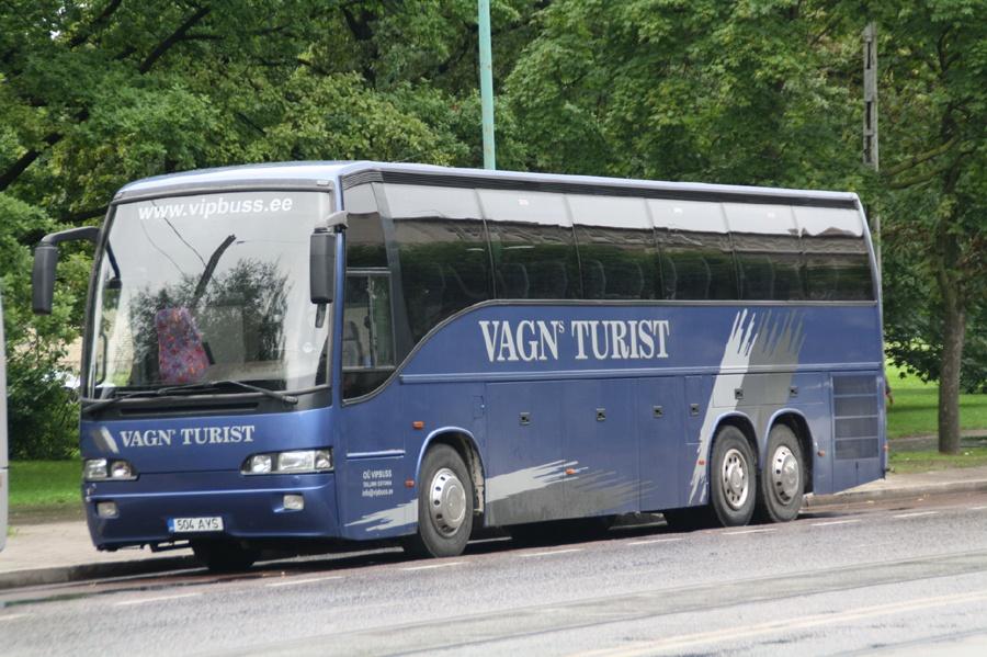 Vipbuss 504AYS i Tallinn i Estland den 31. juli 2009
