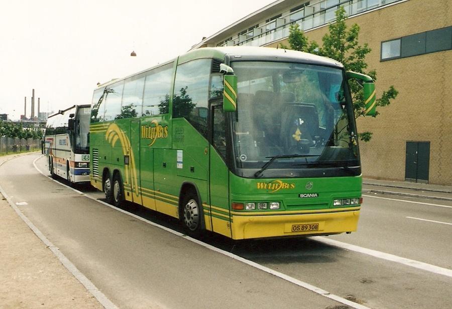 Wulff Bus 60/OS89308 på Ingerslevsgade i København
