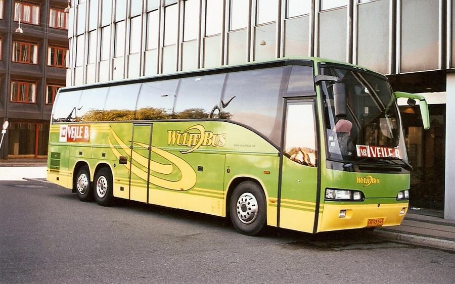 Wulff Bus 55/OB93545 på Vester Søgade i København