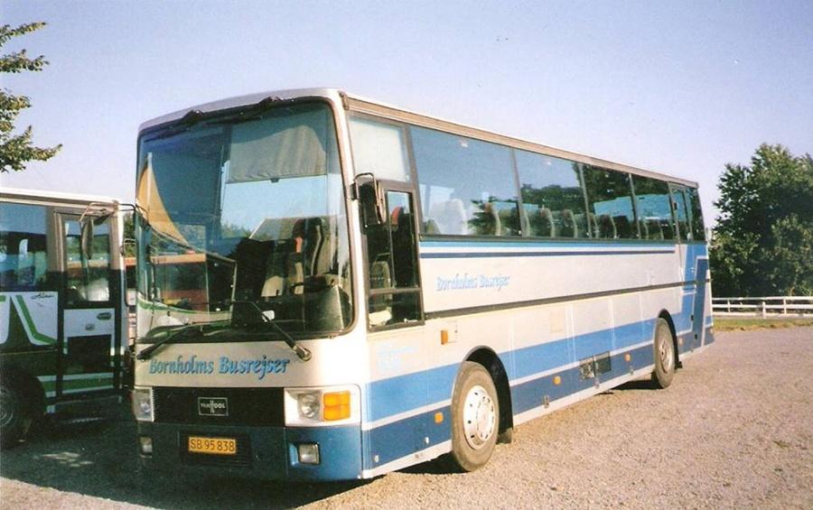 Knud Kofoed SB95838 på Bornholm i 2002