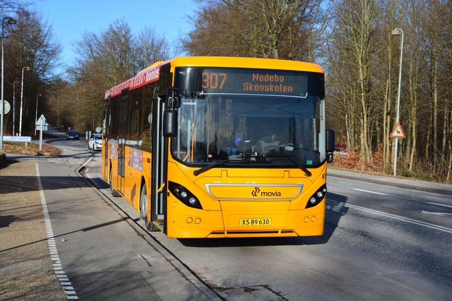 Nobina 6107/XS89630 i Nødebo den 9. februar 2015