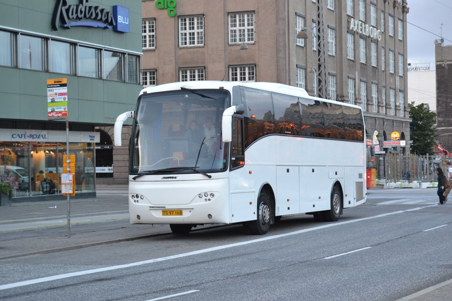 Vikingbus 336/TS97168 på Vesterbrogade i København den 30. juni 2013