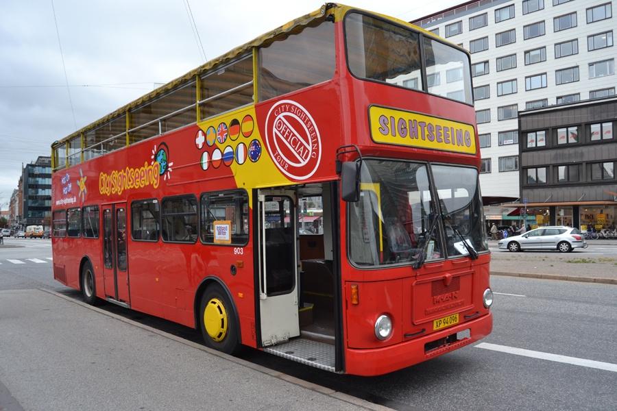 Vikingbus 903/XP94096 på Vesterbrogade i København den 4. september 2013