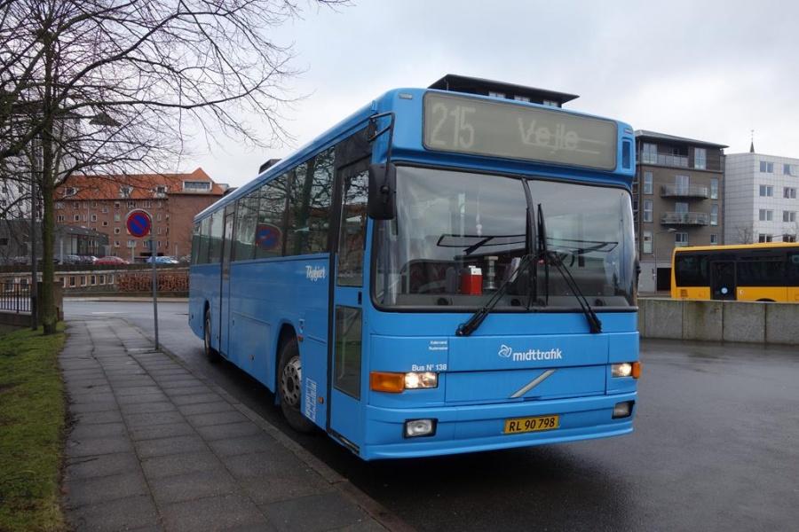 Bent Thykjær 138/RL90798 på Vejle Trafikcenter den 2. marts 2015