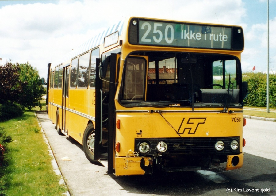 Ex. City-Trafik 7058 i Kildebrønde i 2001