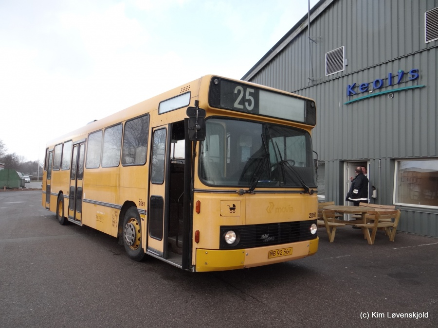Keolis 2061/MB92561 foran Industriholmen garage i Avedøre den 1. april 2015