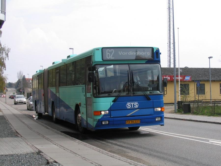 Veolia 3135/PX96227 i Valdemarsgade i Vordingborg den 2. maj 2006