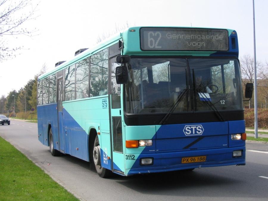 Veolia 3112/PX96188 ved Vordingborg Gymnasium den 2. maj 2006
