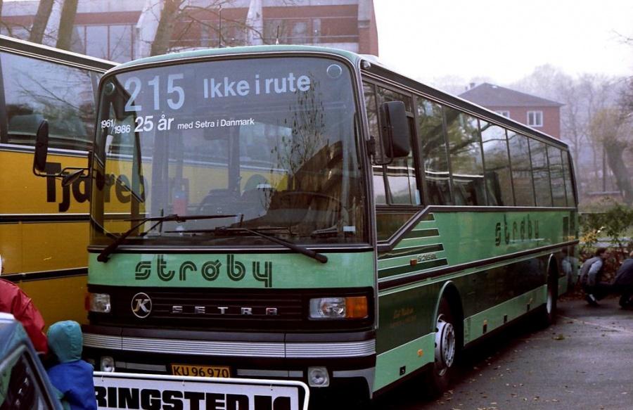 Strøby Turist KU96970  i Helsingør den 15. november 1986