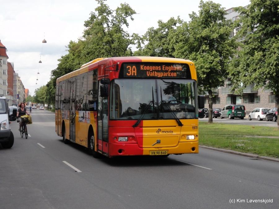 Arriva 1978/XN90820 på Strandboulevarden i København den 2. august 2015