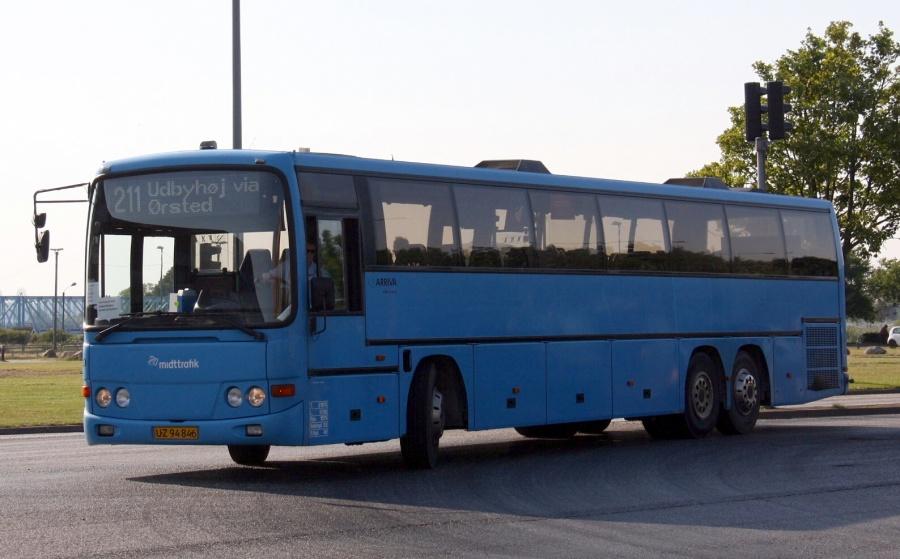 Arriva 2720/UZ94846 på Århusvej i Randers den 21. august 2015