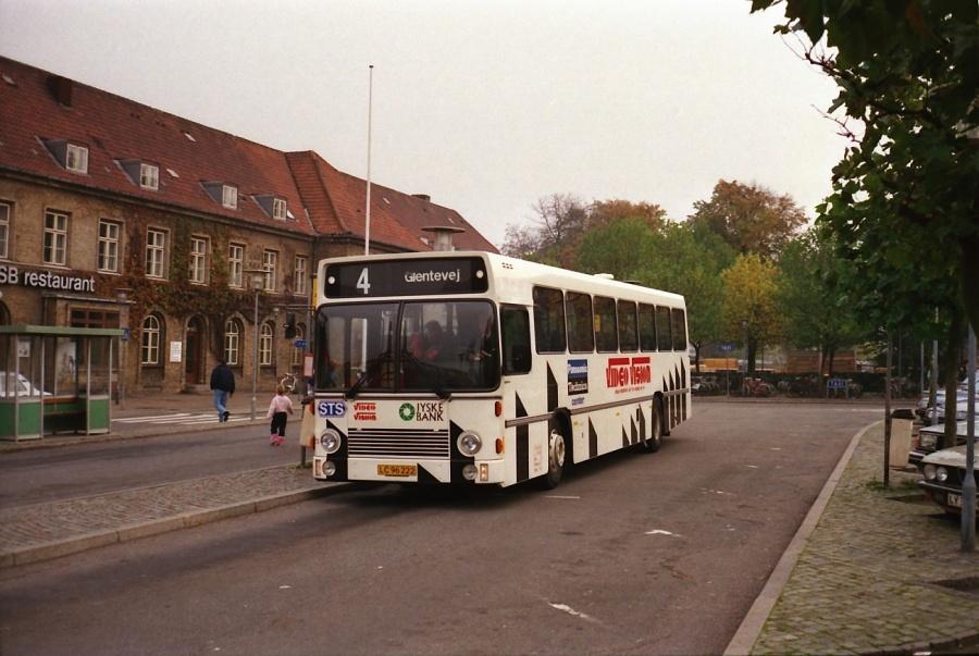 DSB 073/LC96222 i Næstved i oktober 1988