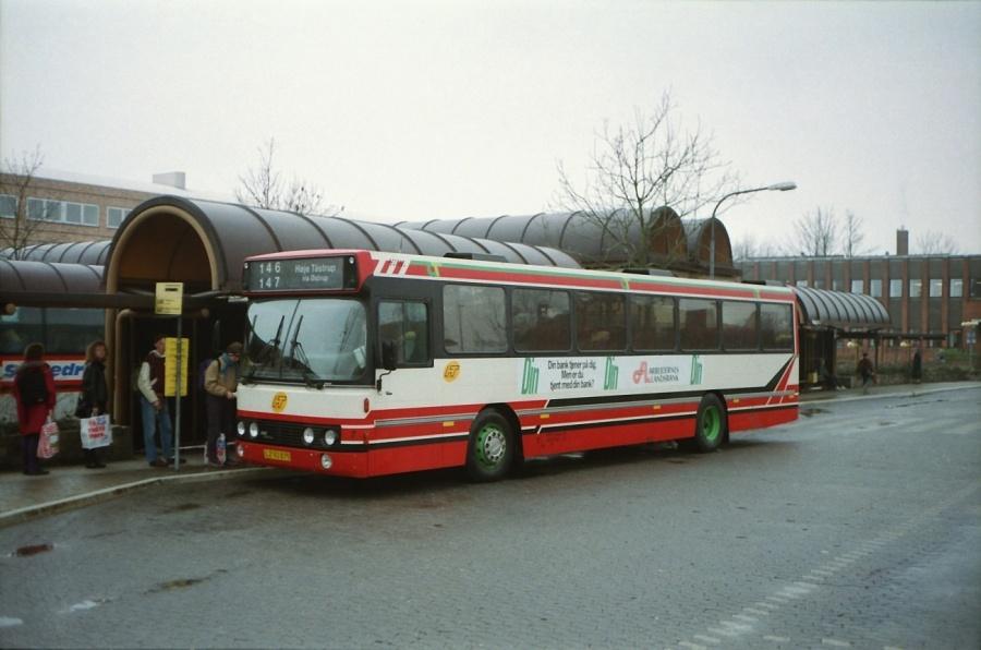 City-Trafik 7/LZ92875 ved Ballerup Station i februar 1992