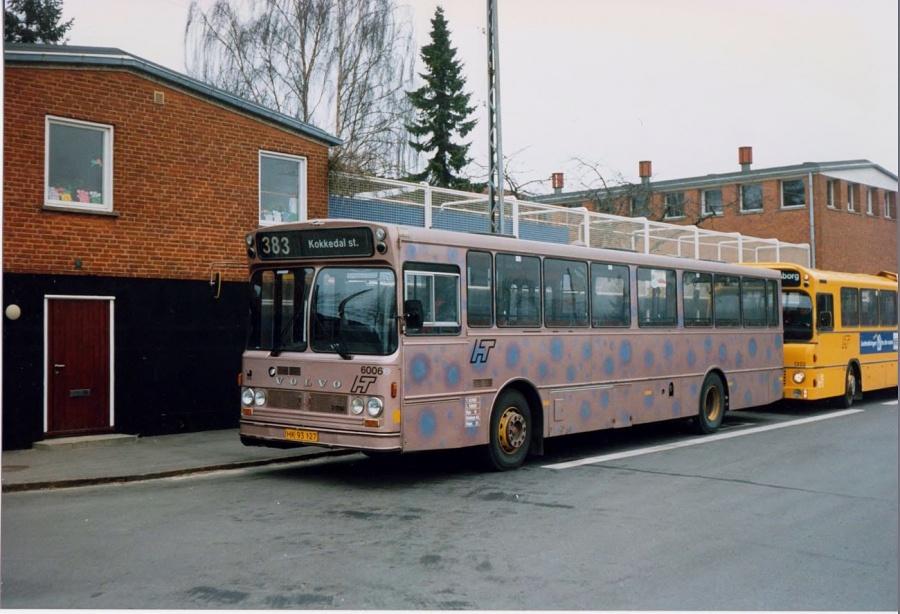 HT 6006/HK93127 ved Rungsted Kyst Station i februar 1992