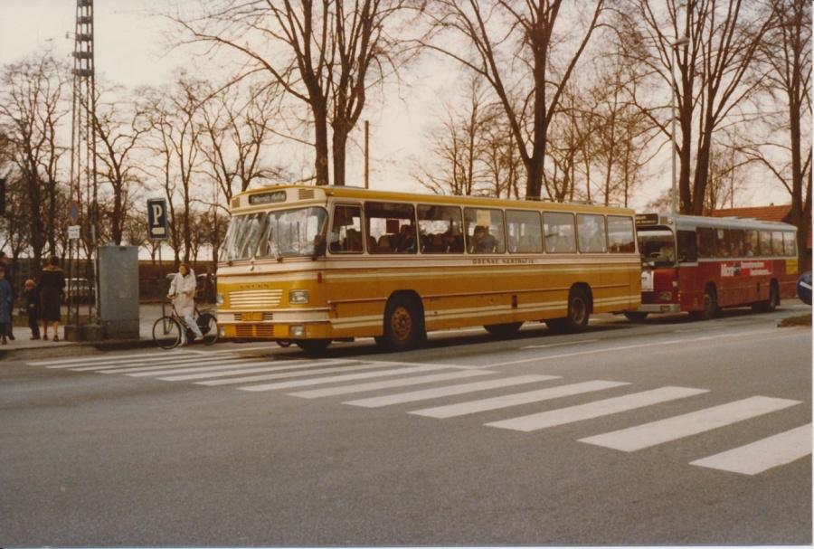 Odense Nærtrafik HZ92118 i Odense i april 1983
