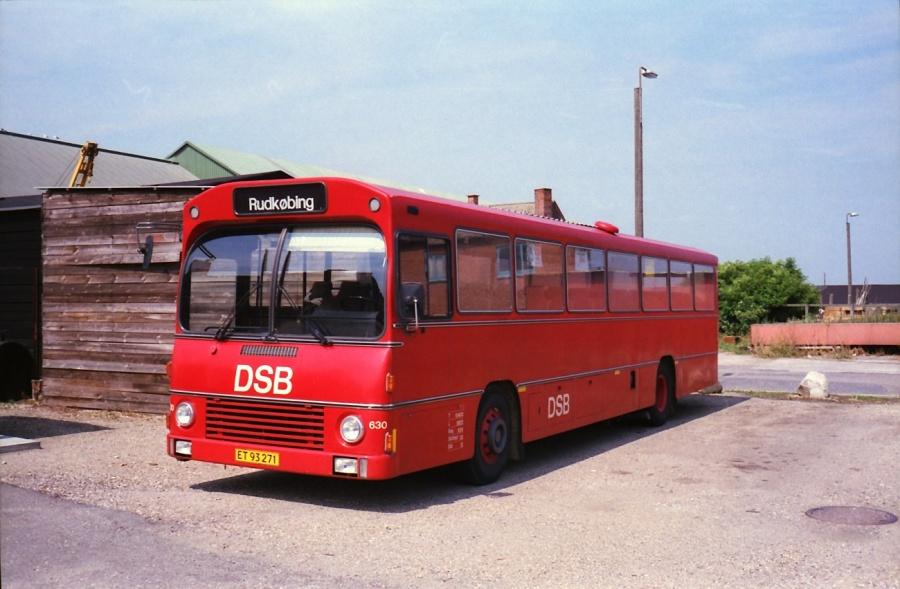 DSB 630/ET93271 i Rudkøbing i juli 1988