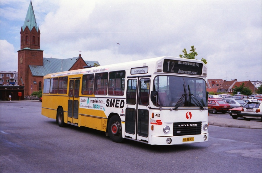 Smed 43/HT88431 i Silkeborg i juli 1988