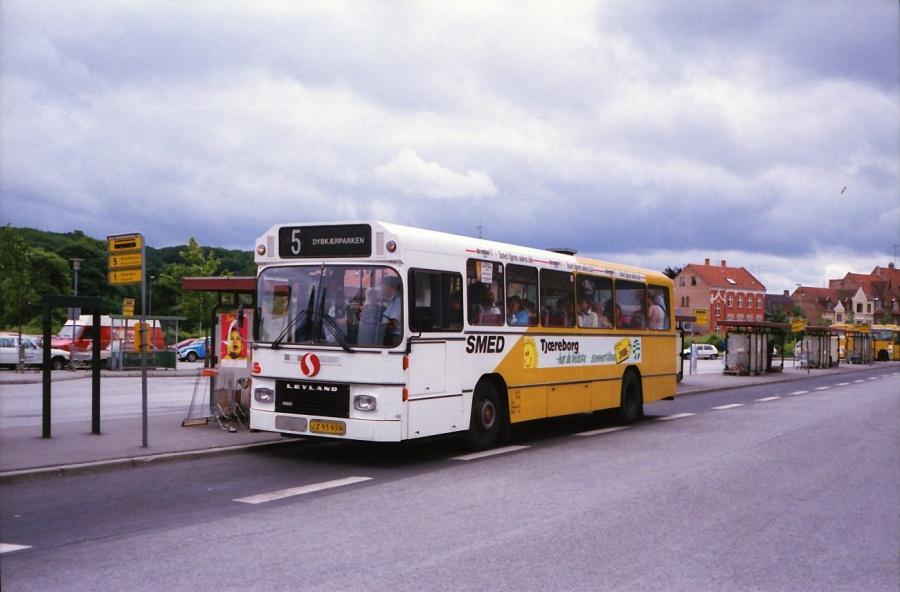 Smed 60/JZ93939 i Silkeborg i juli 1988