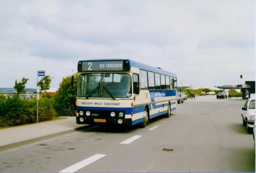 Rugaard JZ94077 i Ebeltoft i juli 1988