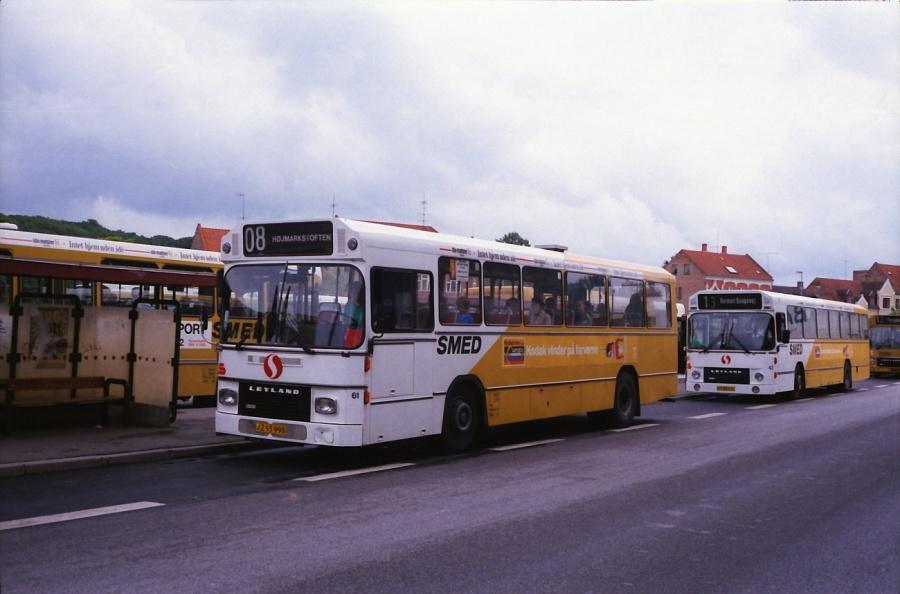 Smed 61/JZ93998 i Silkeborg i juli 1988