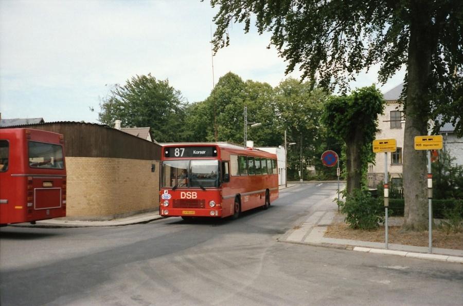 DSB 079/LH90495 i Skælskør i juli 1989