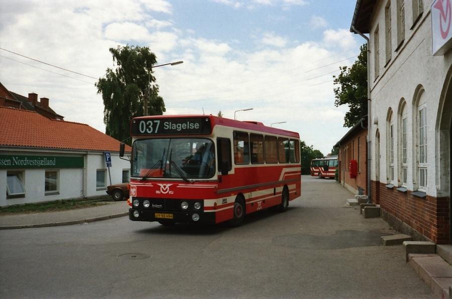 OHJ 89/JY92494 ved Fårevejle Station i juli 1990