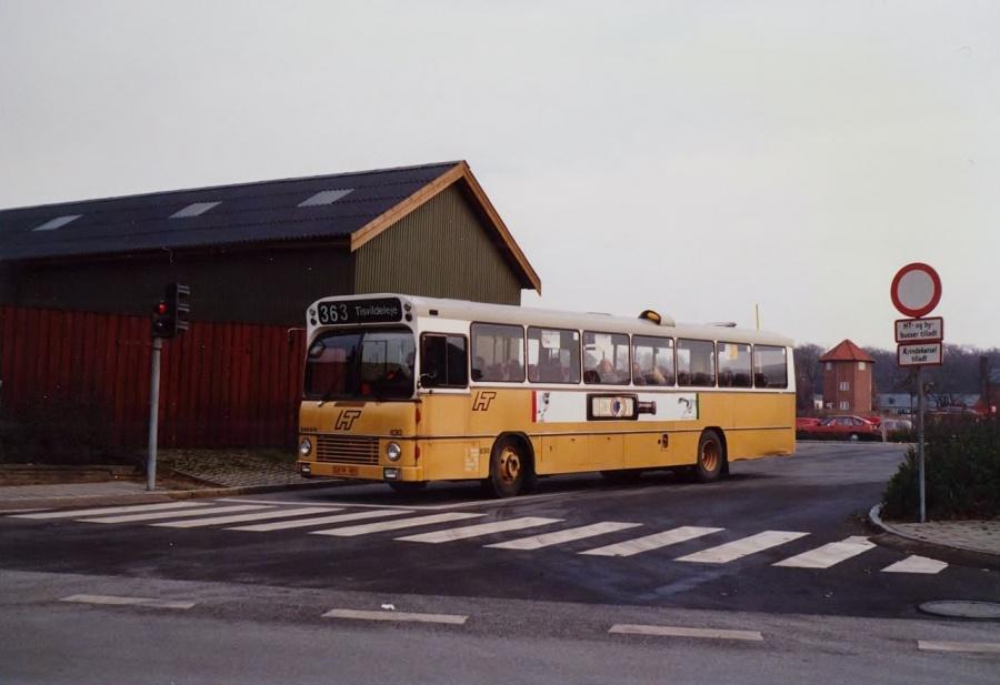 HT 830/DX91185 ved Hillerød Station i oktober 1988