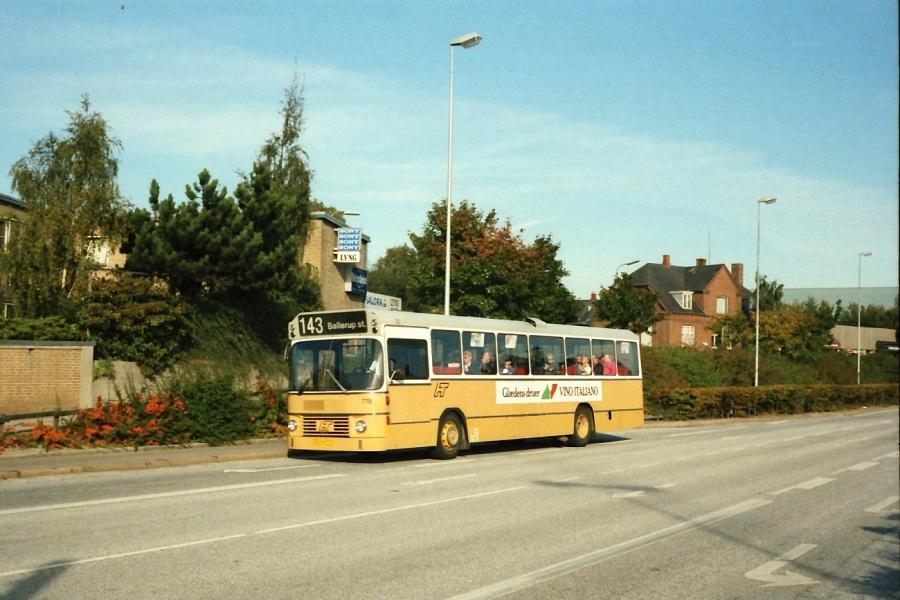 HT 778/DZ94717 på Sydvestvej i Glostrup i september 1988