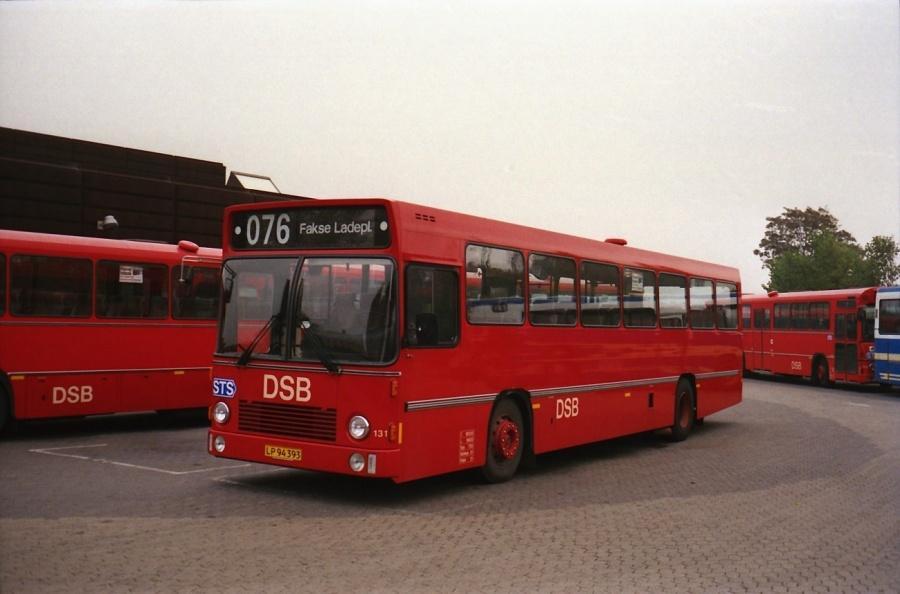 DSB 131/LP94393 i Næstved i oktober 1988