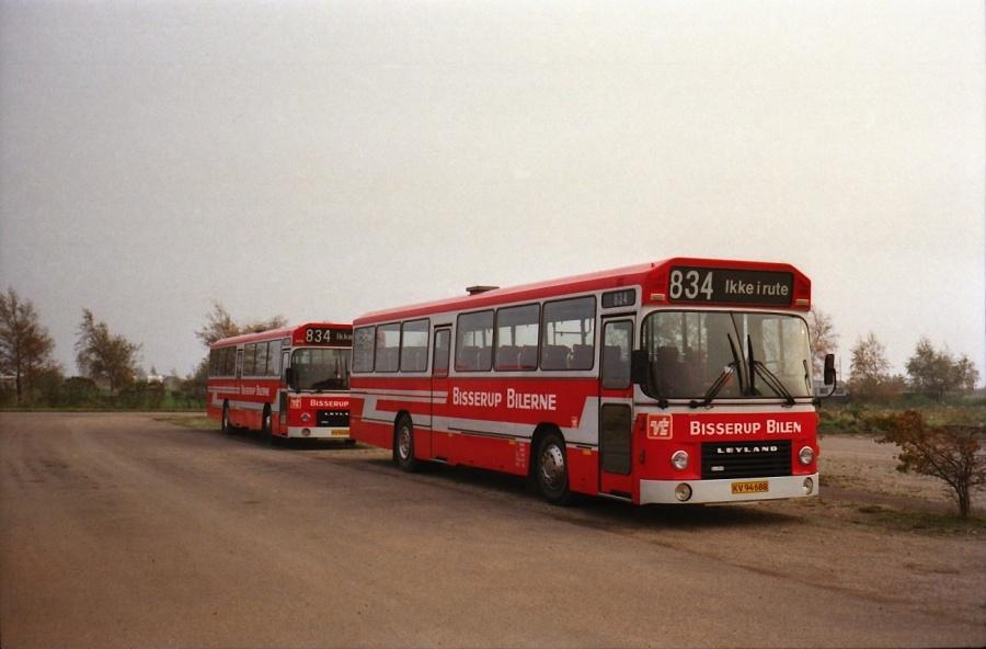 Bisserup Bilen KV94688 i Bisserup i oktober 1988