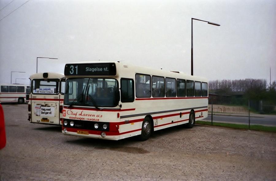 Oluf Larsen 38/LM88227 i Slagelse i oktober 1988