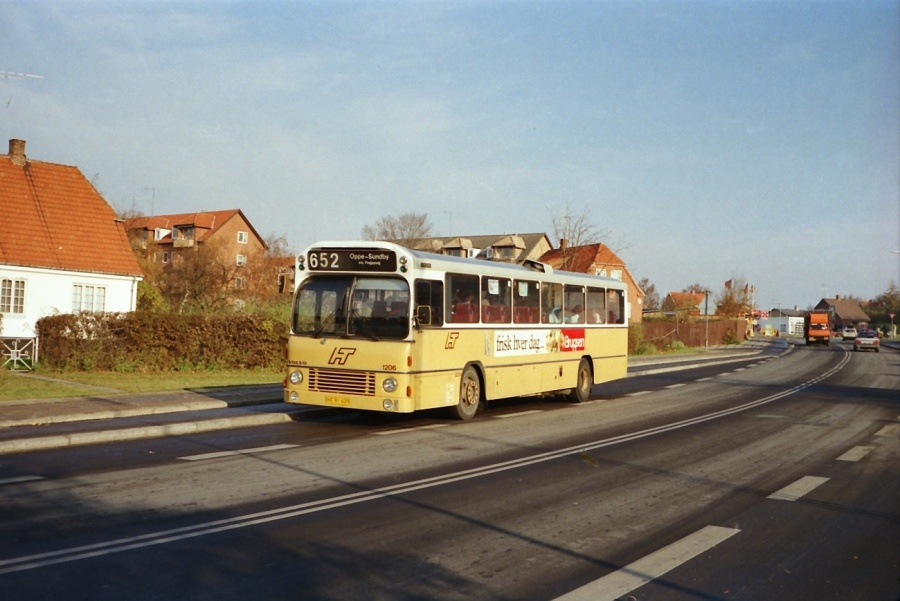 HT 1206/HE91429 i Frederikssund i oktober 1988