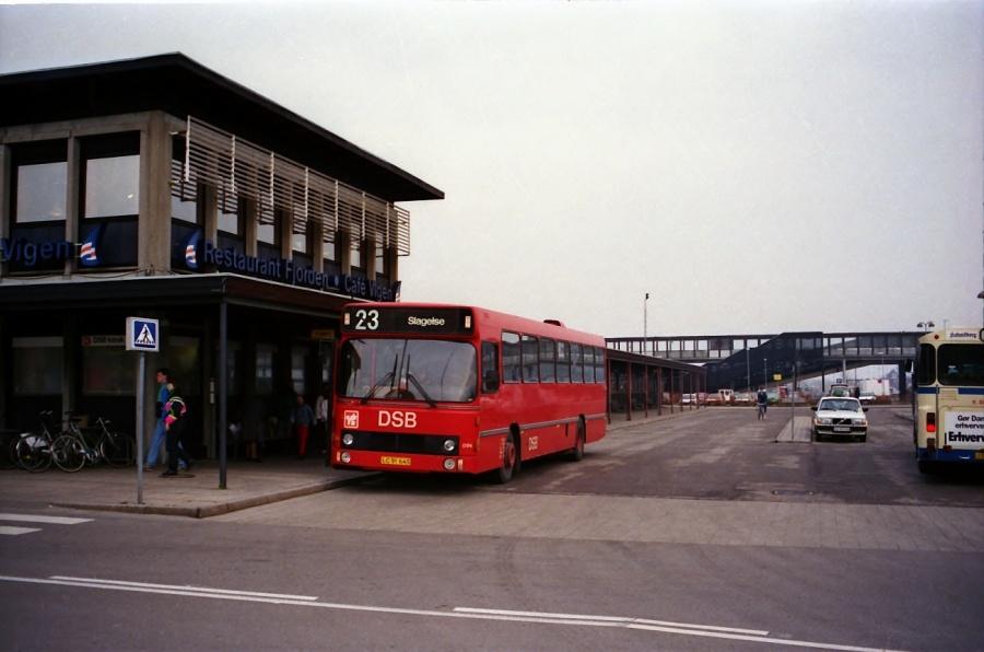 DSB 096/LC91643 i Kalundborg i december 1988