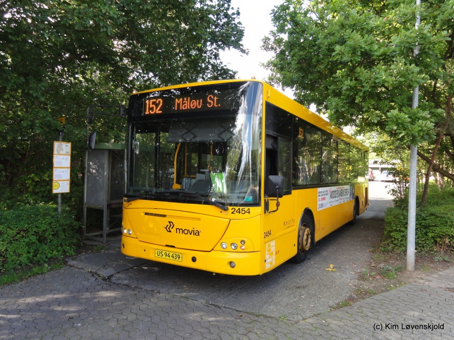Keolis 2454/US94439 ved Værløse Ryetvej den 25. september 2015