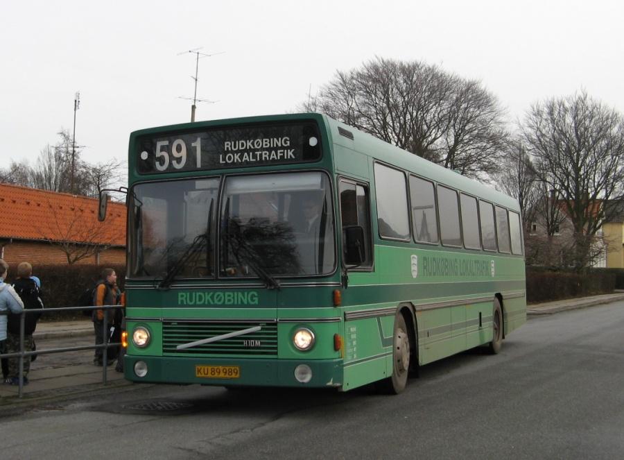 Bergholdt 1/KU89989 på Kastanievej i Rudkøbing den 13. december 2006