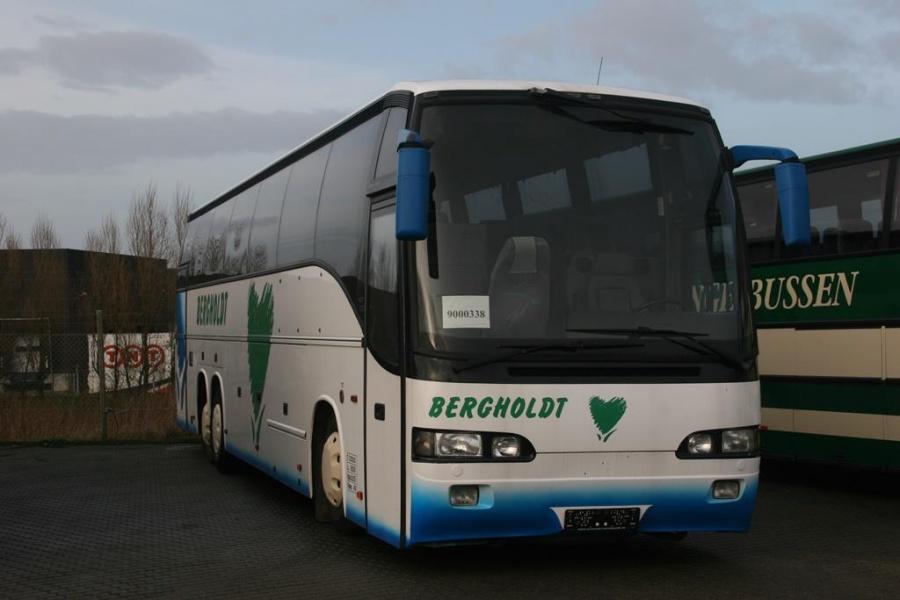 Ex Bergholdt ved Bus Center Vest i Kolding den 26. januar 2007