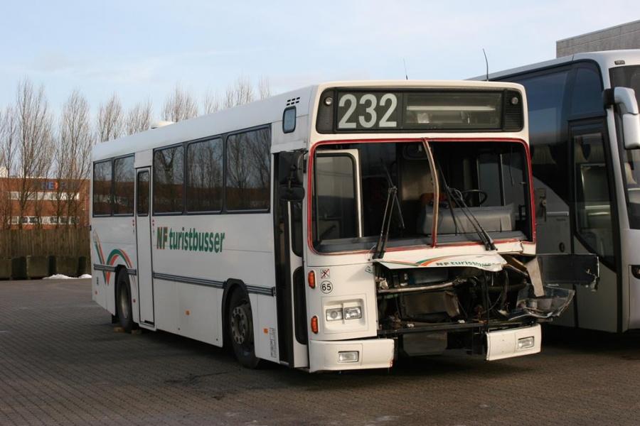NF Turistbusser 65 ved Bus Center Vest i Kolding den 26. januar 2007