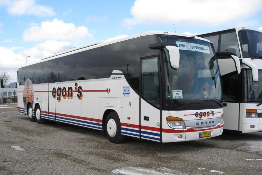 Egons Turist- og Minibusser 150/BF97388 i Slagelse den 25. marts 2013